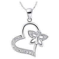 I think you'll like 18k White Gold Plated Pendant Necklace. Art. SCN-780. Add it to your wishlist!  http://www.wish.com/c/52fe7b36b9ee8424d731cbcd