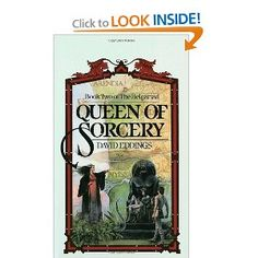 The second book of the Belgariad, Queen of Sorcery. I should also mention the world building is very well done in these books. Which is why I'm personally of the opinion that anthropology/history majors should read a lot of fantasy and sci-fi.