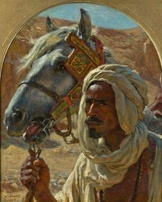 Etienne - Nasreddine Dinet ( 1861-1929 | orientaliste français ayant vécu à Boussâda ( Algérie )