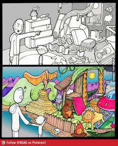 The power of Imagination--see what your child sees.