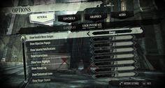 Dishonored's UI