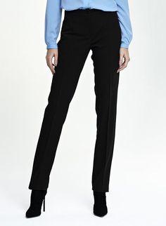 8e0a7cb02d7c Pantalon femme noir droit chic haute qualité Nife SD25 36 38 40 42 44   Tailleurhabill