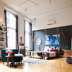 What attracted you to this project? - Athena Calderone's Pinterest Bedroom for CB2 - Lonny