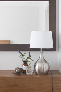 Shining in silver, Vivian lampstand catches the eye. Read more about this pretty lampstand and order a suitable lampshade at the same time. New Homes, Lamp, Decor, Home Lighting, Lighting, Home, Bedroom, Home Decor