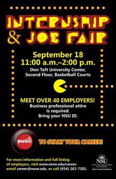 NSU Internship and Job Fair
