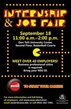 NSU Internship and Job Fair