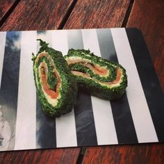 fit*Rina: Spinat-Lachs-Roulade
