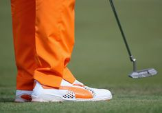 Alex Holmes' weekly look at what the pros are wearing on the golf course Rickie Fowler Shoes, Mens Golf, Golf Courses, Sneakers, How To Wear, Style, Fashion, Dolphins, Tennis