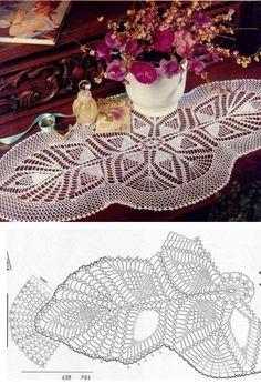 free crochet pattern ...♥ Deniz ♥