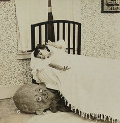 Monsters under the bed existed long before I was born!  I freaking KNEW it!
