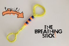 teacher shares an amazingly simple breathing tool. Counseling Crafts, Elementary Counseling, School Counselor, Mindfulness For Kids, Mindfulness Activities, Coping Skills, Social Skills, Childrens Yoga, Conscious Discipline