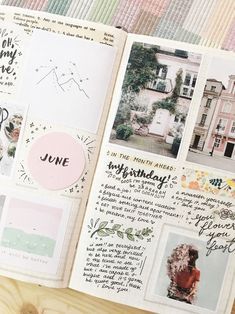 I'm always looking to add new pages to my bullet journal, so I've decided to compile a list of bullet journal page ideas, along with some lovely examples! Bullet journal ideas and inspiration year at a glance, unique date headers, monthly key events log and more spread