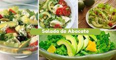 Receita de Salada de Abacate - http://topreceitasfaceis.com/receita-salada-abacate/