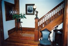 what kind of wood was used inside a victorian home - Google Search Folk Victorian, Victorian Homes, Stained Wood Trim, Interior And Exterior, Interior Design, Victorian Interiors, Diy Woodworking, My Dream Home, Vintage Kitchen