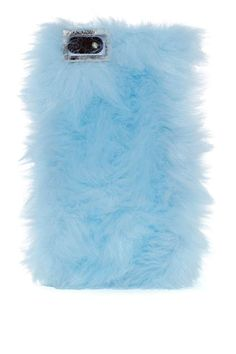 Skinnydip London Furry Up iPhone 5 Case - Blue