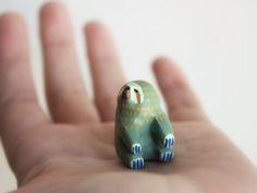 Sloth Pocket totem Summer by HandyMaiden on Etsy, $34.00