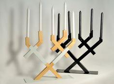 Chandelier TAIJITU par Barnabé Bribay #candle #bois #wood #french #design - Crédits photos Bribay-Design