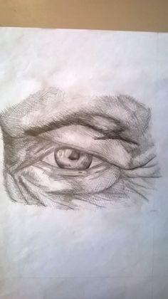 Studio di un occhio, matita - Eye study, pencil