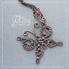 wire-wrap butterfly               Need to design one mixing brass and copper! That would be awesome.