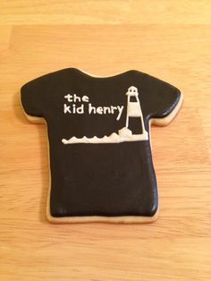 Band T shirt cookie