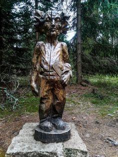Czech Republic, Fountain, Garden Sculpture, Bird, Outdoor Decor, Travel, Viajes, Birds, Water Fountains