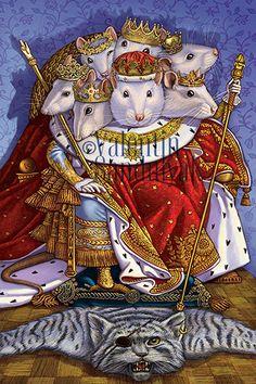 Сообщество иллюстраторов / Иллюстрации / Валентин Сандуляк / Король крыс