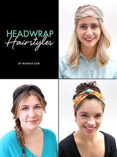 We are OBSESSED with headwraps! We pulled together some *adorable* hairstyles that you can do using these chic and fashionable headwraps this fall. Here's how to get these looks!