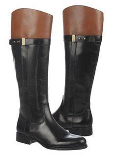 Naturalizer Women's Josette Wide Calf Boot (Black) - Casual Boots