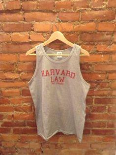 ca47a2725e9513 Harvard Law Just Kidding Tank Top shirt tank tshirt For Unisex Style 005