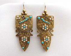 antique-turquoise-earrings