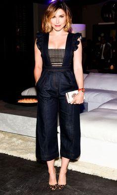 Sophia Bush Gives Us Jumpsuit Envy In Self Portrait