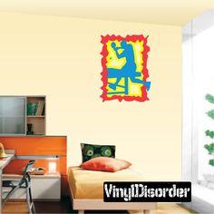 Ping Pong Wall Decal - Vinyl Sticker - Car Sticker - Die Cut Sticker - CDSCOLOR020