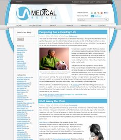 Specialty website for LA Medical Retail/Blog by VGM Forbin.