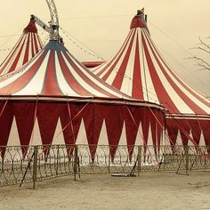 Vintage circus tent  I Wanna Join the Circus!