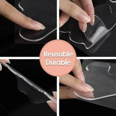 Hyberic - Reusable Silicone Wrinkle Removal Sticker, Anti Aging Patch - 16pcs / United States