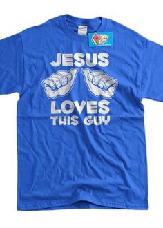 Funny Jesus Church Youth Group TShirt  Jesus Loves by IceCreamTees, $14.99