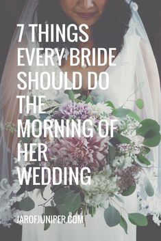 A MUST READ FOR BRIDES TO BE!