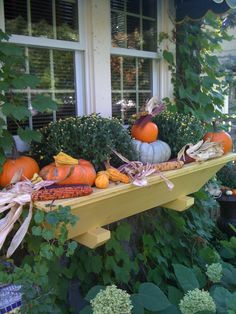 Calling it Home: Fall Window Boxes