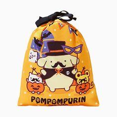 ポムポムプリン 巾着&菓子