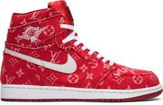 6e804d0b8fa90e Air Jordan Supreme x Louis Vuitton x Red Ribbon Recon x Air Jordan 1 Retro  High