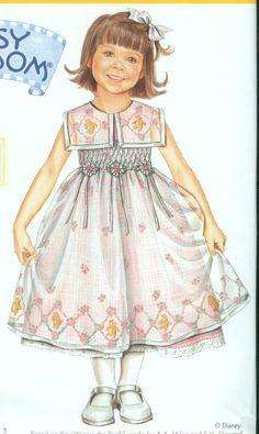 Modest Sewing Pattern Simplicity Daisy Kingdom 0514 Child's Dress Sz 2-4 #SimplicityDaisyKingdom  ($5.99 with free shipping via broom-pilot on ebay)