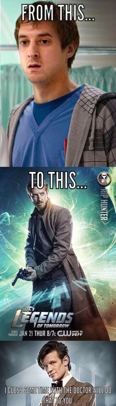 Arthur Darvill. From Rory to Rip Hunter
