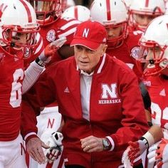 Tom Osborne - University of Nebraska, football coach, athletic director