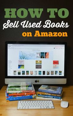Step-by-step tutorial on how to sell your used books on Amazon!