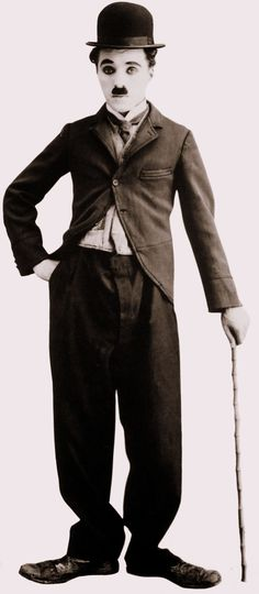 Charlie Chaplin (English born American silent comedy director: The Kid [1921], The Gold Rush [1925], Modern Times [1936], The Great Dictator [1940], Monsieur Verdoux [1947])