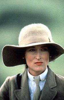 Meryl Streep in Out of Africa - The inspiration for my African wardrobe :)