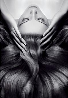 Luxury Hair Treatments: Because Your Hair Deserves It! Massage Dos, Salon Quotes, Beauty Salon Decor, Hair Photography, Goddess Hairstyles, Hair Spa, Natural Hair Styles, Long Hair Styles, Hair Reference