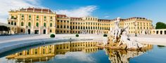 Palácio de Schonbrunn em Viena   Áustria #Viena #Áustria #europa #viagem