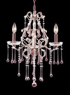 Opulence 3 Light Mini Candle Chandelier