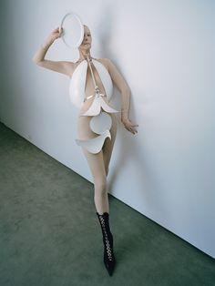 Tilda Swinton: The Surreal World - Tilda Swinton at the de Menil Collection.-Wmag